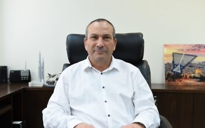 Col. (res.) Avi Dadon, head of the Defense Ministry's procurement department. (Defense Ministry)