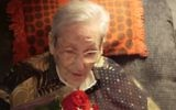 Margaret 'Gretel' Bergmann-Lambert, Jewish high jumper banned from 1936 Berlin Olympics, celebrates her 103rd birthday on April 12, 2017. (Screen capture: YouTube)
