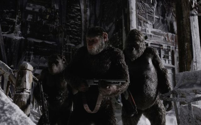 A scene from 'War for the Planet of the Apes.' (20th Century Fox)