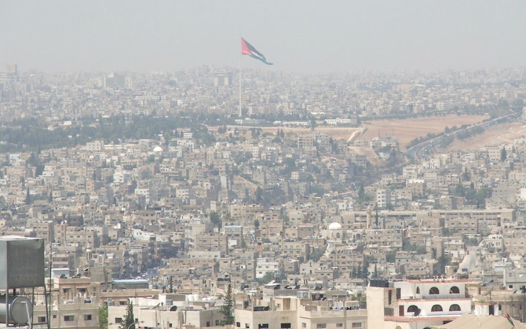 During a 2006 visit to the Jordanian capital of Amman, JTA's Uriel Heilman underwent some invasive security checks when he visited the Israeli Embassy there. (Uriel Heilman)