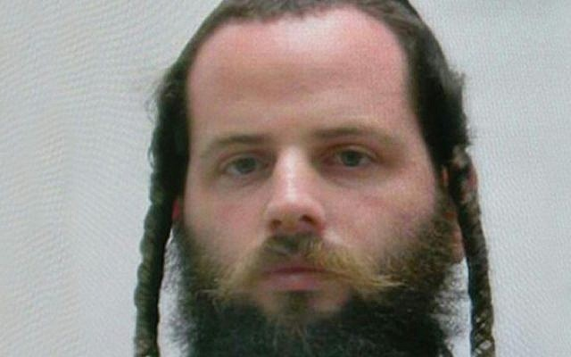 Meir Zehnwirth was charged with indecent assault on minors while he taught at the Talmud Torah elementary school in Tiberias on July 31, 2017. (Israel Police)