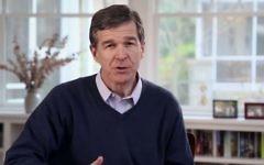 North Carolina Governor Roy Cooper. (Screen capture/YouTube)