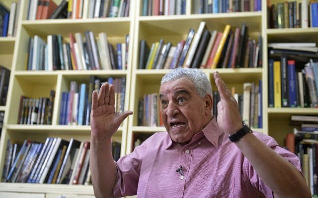 Egypt's former antiquities minister Zahi Hawass gives an interview with AFP at his office in Cairo on May 22, 2017.(AFP PHOTO / KHALED DESOUKI)