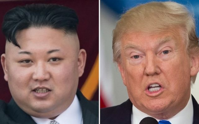 North Korean leader Kim Jong-Un (L) and US President Donald Trump. (AFP Photo/Saul Loeb and Ed Jones)