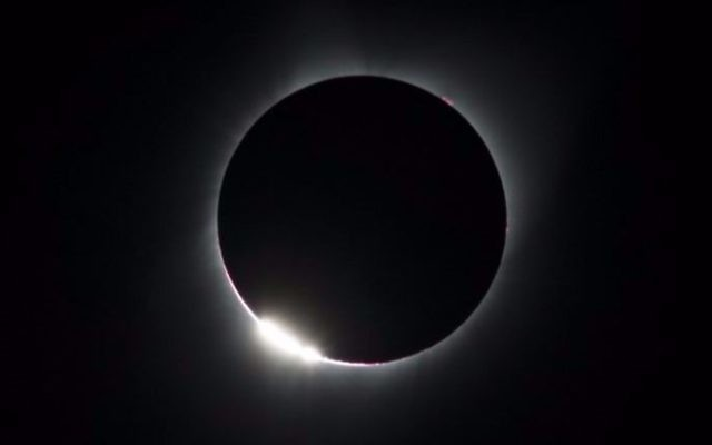"The ""diamond ring effect"" is seen during a total solar eclipse as seen from the Lowell Observatory Solar Eclipse Experience on August 21, 2017 in Madras, Oregon. (Stan Honda/AFP)"