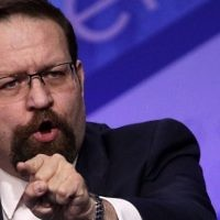This file photo taken on February 24, 2017 shows Deputy Assistant to US President Donald Trump, Sebastian Gorka, speaking during the Conservative Political Action Conference in National Harbor, Maryland. (AFP PHOTO / GETTY IMAGES NORTH AMERICA / ALEX WONG)
