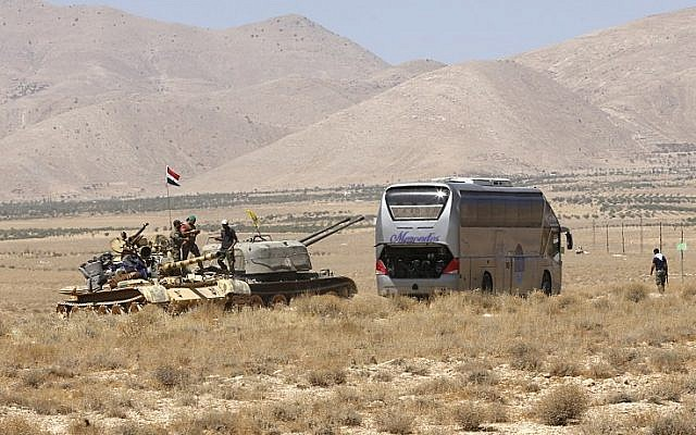 us says 17 bus is convoy stranded in syrian desert the times of israel