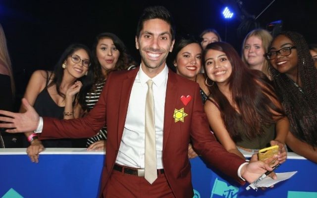 Nev Schulman attends the 2017 MTV Video Music Awards at The Forum on August 27, 2017 in Inglewood, California.  (Rich Fury/Getty Images/AFP)