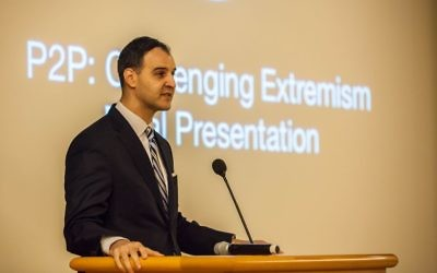 George Selim giving a talk in October 2016 (Department of State Bureau of Educational and Cultural Affairs)