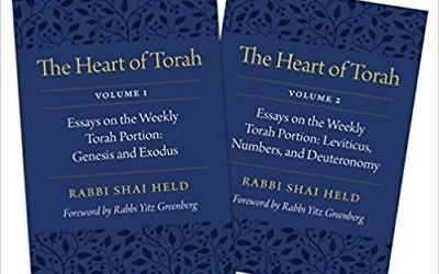 'The Heart of Torah,' by Rabbi Shai Held. (Courtesy)
