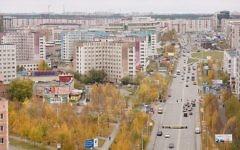 A view of Surgut, Russia, in 2009 (CC-BY SA Mariluna/Wikipedia)
