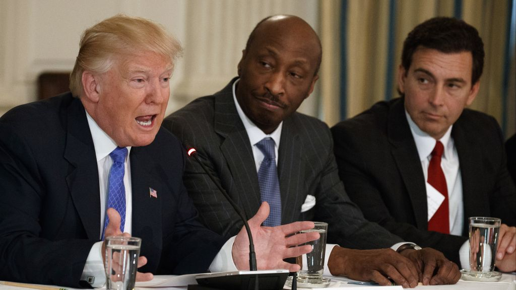 Asked To Serve Some Ceos Say No More To Trump The Times