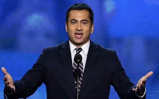 In this Sept. 4, 2012 photo, Actor Kal Penn addresses the Democratic National Convention in Charlotte, N.C. (AP Photo/J. Scott Applewhite)