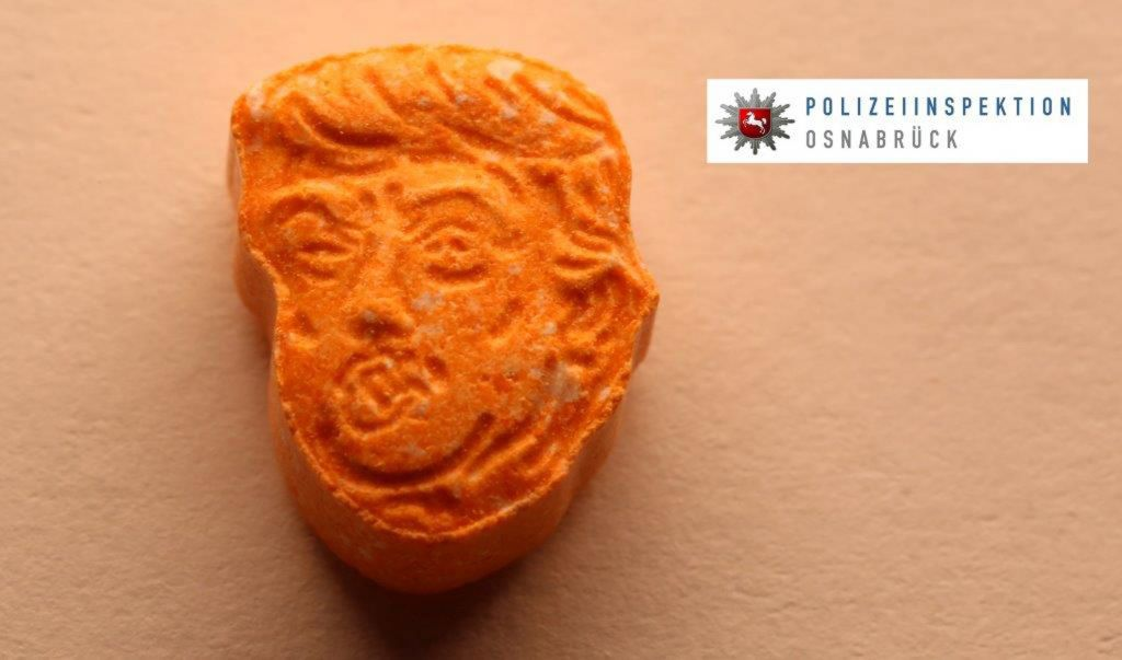 This Undated Picture Provided By Polizeiinspektion Osnabrueck Police Shows An Ecstasy Pill German Police Say