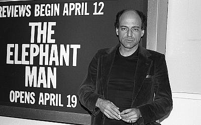 "This 1979 image shows Bernard Pomerance, playwright of ""The Elephant Man,"" in New York. (David LeShay via AP)"