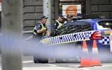 Illustrative photo of police in the central business district of Melbourne, Australia, January 20, 2017. (AP Photo/Andrew Brownbill)