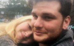 This undated photo provided by Kianna Kaizer, shows  Jeremy Himmelman and his girlfriend Kianna Kaizer. (Kianna Kaizer via AP)