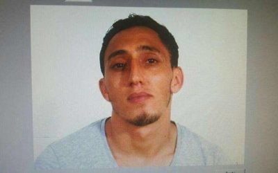 Driss Oubakir, a suspect in Barcelona terror attack on August 17, 2017. (Spanish National Police handout)