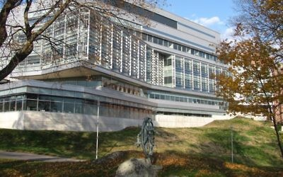 The Carl J. Shapiro Science Center at Brandeis University (Courtesy of Brandeis via JTA)