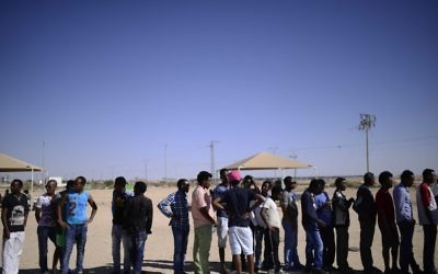 HRW urges Israel to not jail Eritrean and Sudanese asylum seekers