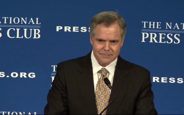Screen capture from video of  MGM Resorts International Chair James Murren speaking to The National Press Club, December 02, 2016. (YouTube/National Press Club Live)