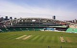 The Oval cricket ground, London, on 17 April 2005. (Public domain, Wikimedia commons/Jguk)