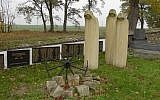 Memorial at the site of the Lety concentration camp in the Czech Republic. (Public domain, Max, Wikimedia Commons)