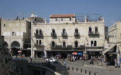 Petra Hotel in Jerusalem. (DiggerDina, Wikipedia)