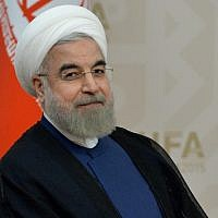Iranian President Hassan Rouhani. (Alexey Kudenko/Getty Images)