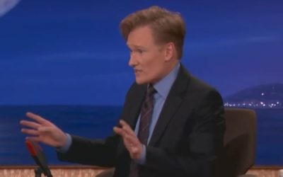 American talk show host Conan O'Brien (Screen capture: YouTube)
