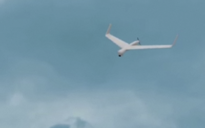 An Aeronautics Defense Systems Ltd. Orbiter 1K drone. (Screen capture: YouTube/Practical Information)