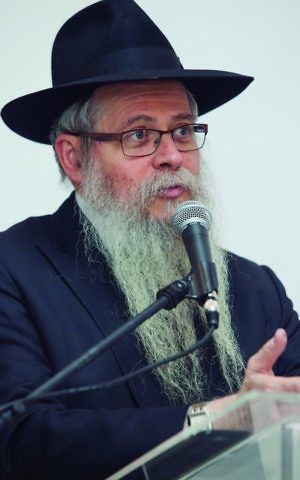 Rabbi David Weitman. director of Ten Yad. (Courtesy)