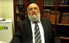 Barcelona chief Rabbi Meir Bar Hen. (Screen capture YouTube.com)