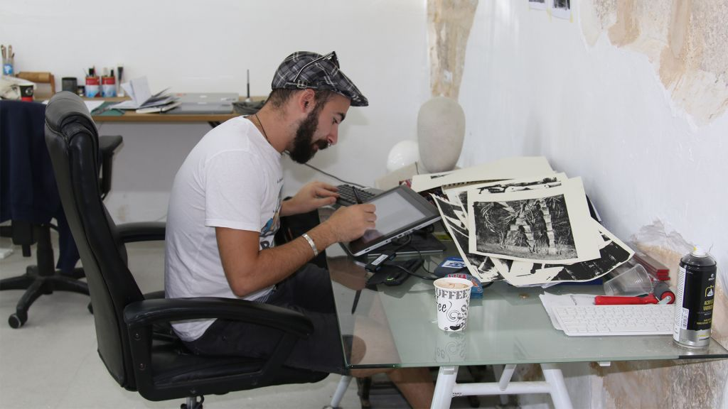 Programs at Alliance House help young designers who want to open small businesses. (Shmuel Bar-Am)