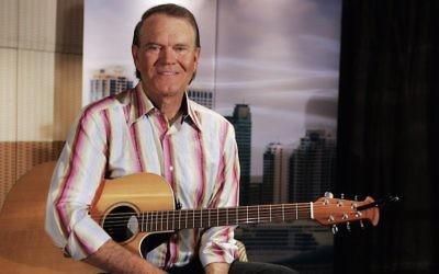 Musician Glen Campbell at the Shangri-La Hotel Sydney on January 30, 2008 in Sydney, Australia.  (Gaye Gerard/Getty Images via JTA)