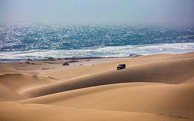 Illustrative: A jeep safari in Namibia (Kavram/iStock via Getty images)