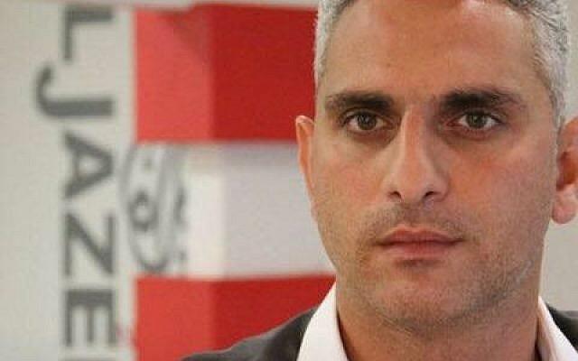 Al Jazeera reporter Elias Karram. (Courtesy)