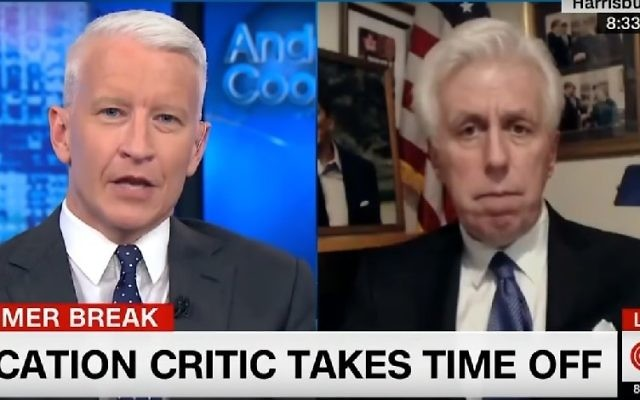 Jeffrey Lord on CNN. (Screenshot/CNN)