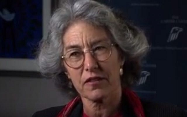 University of Chicago Divinity School dean Laurie Zoloth (YouTube screenshot)