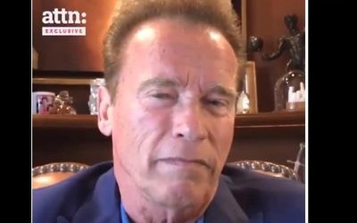Arnold Schwarzenegger speaks out against white supremacists and neo-Nazis, August 17, 2017 (YouTube screenshot)