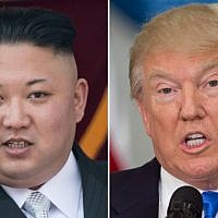 North Korean leader Kim Jong-Un (L) and US President Donald Trump (R). (AFP Photo/Saul Loeb and Ed Jones)