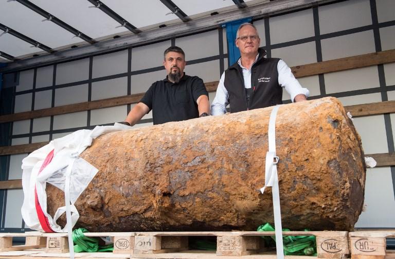 German authorities prepare to dispose of WW2 bomb