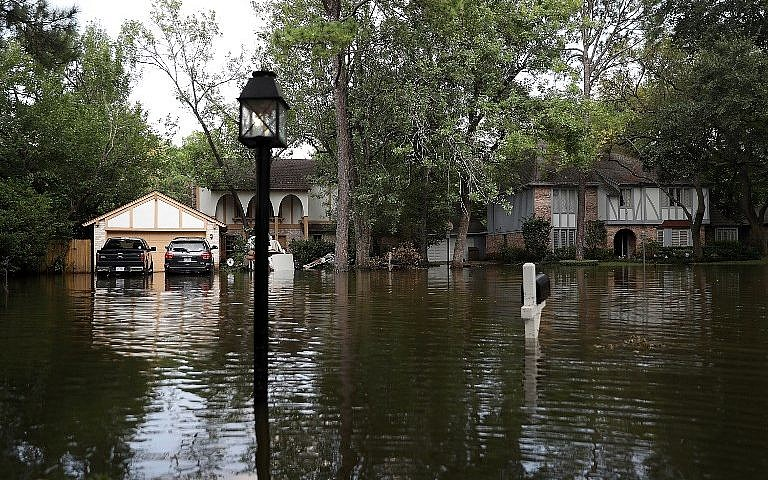 Israel to donate $1 million to Houston Jewish community hit by Harvey