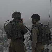 Illustrative: IDF soldiers conduct raids in the West Bank on September 27, 2017. (Israel Defense Forces)