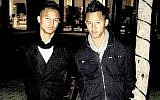 Twin brothers Brandon-Lee Thulsie and Tony-Lee Thulsie (Facebook)