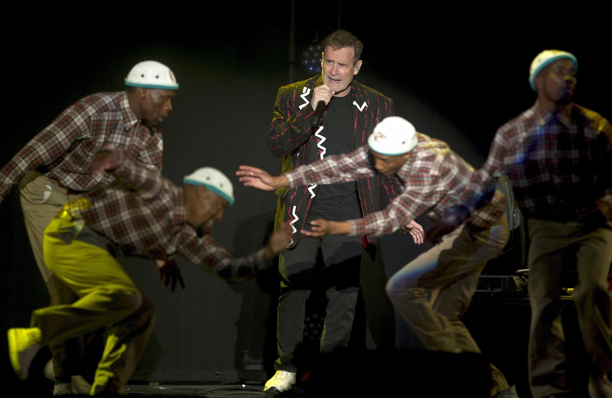 South Africa's Jewish Zulu Johnny Clegg begins last international