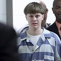 Dylann Roof, a white supremacist, enters the court room at the Charleston County Judicial Center to enter his guilty plea on murder charges in Charleston, South Carolina, April 10, 2017. (Grace Beahm/The Post And Courier via AP)