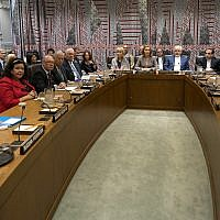 World leaders attend a European Union-hosted meeting about the Iran nuclear deal at United Nations headquarters Wednesday, Sept. 20, 2017. (AP/Craig Ruttle)