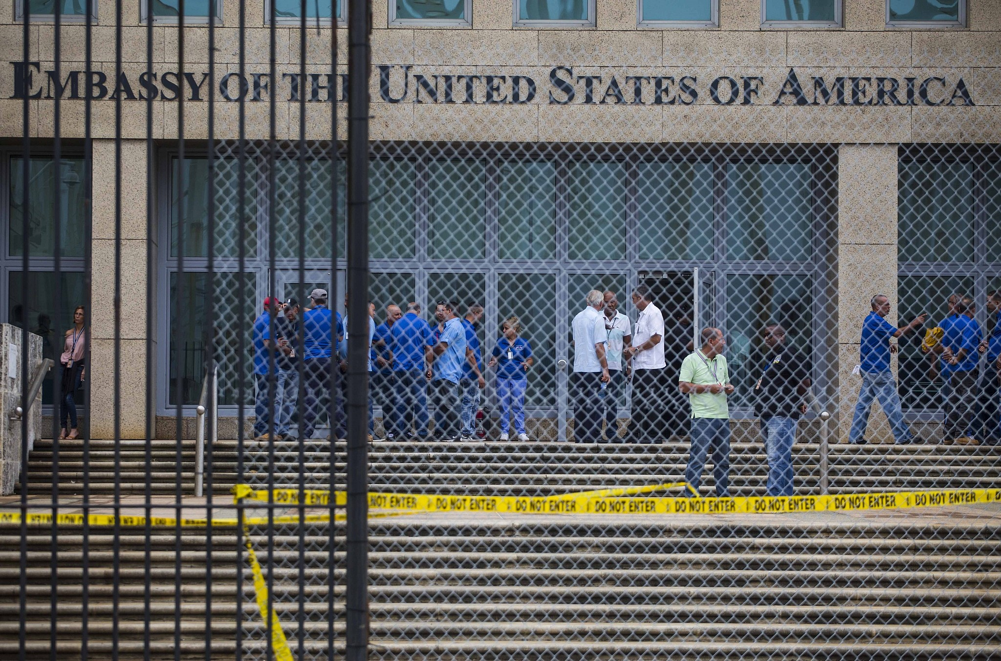 U.S. cuts embassy staff in Cuba after mystery attacks