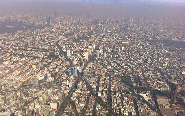 An aerial view of Mexico city. (Wikipedia/Fidel Gonzalez/CC BY 3.0)